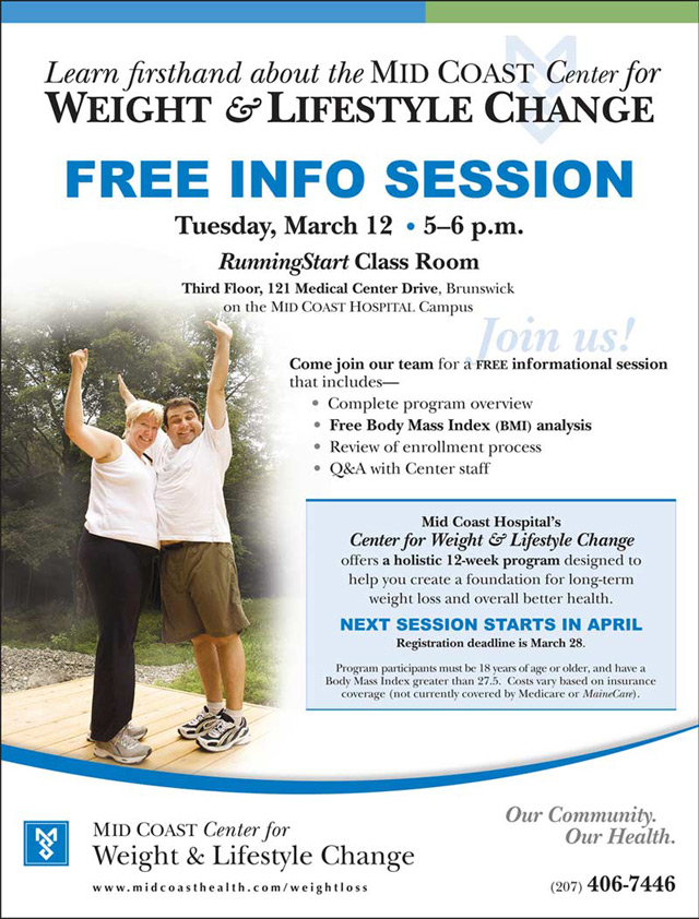 Mid Coast Hospital Offers Info Session On Long Term Weight Loss