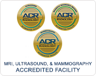 MRI, Ultrasound, & Mammography Accredited Facility