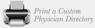 Print a Custom Physician Directory