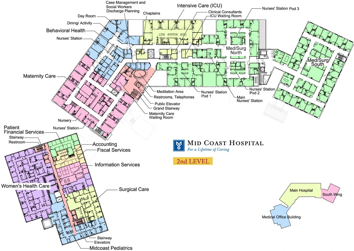 Day Care Center Floor Plans Mid Coast Hospital Find Us Floor Plans Level 2